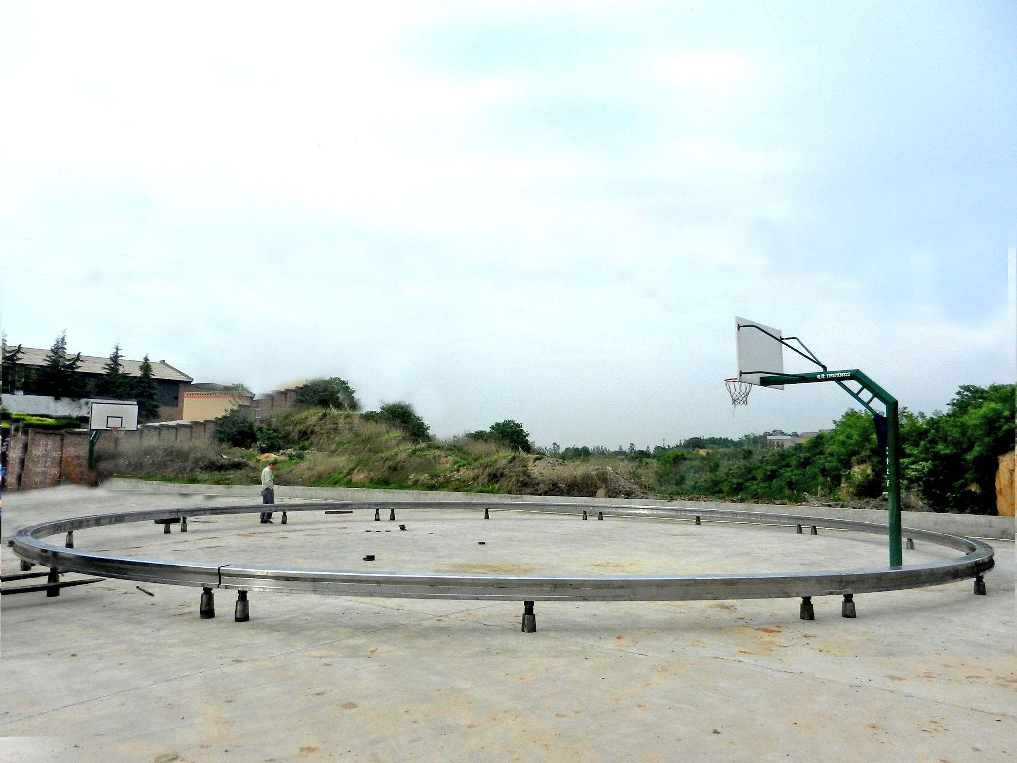 16米直径环轨预组装