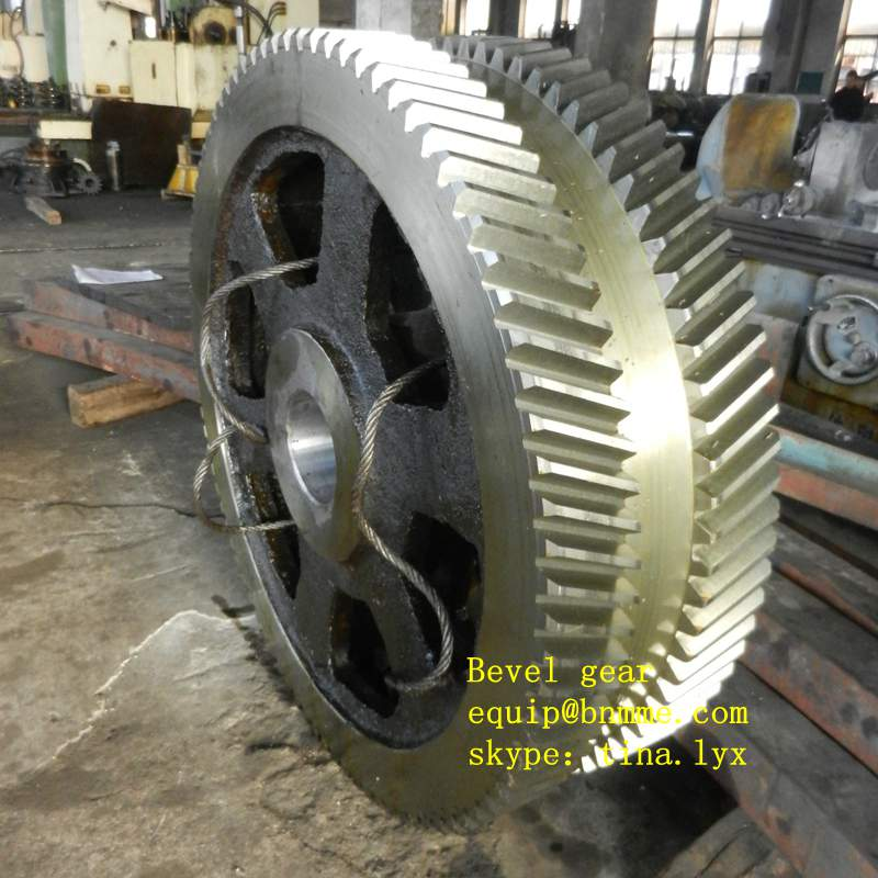 bevel gear of the key part of transmission device for mining, metallurgy,cement and heavy machienry