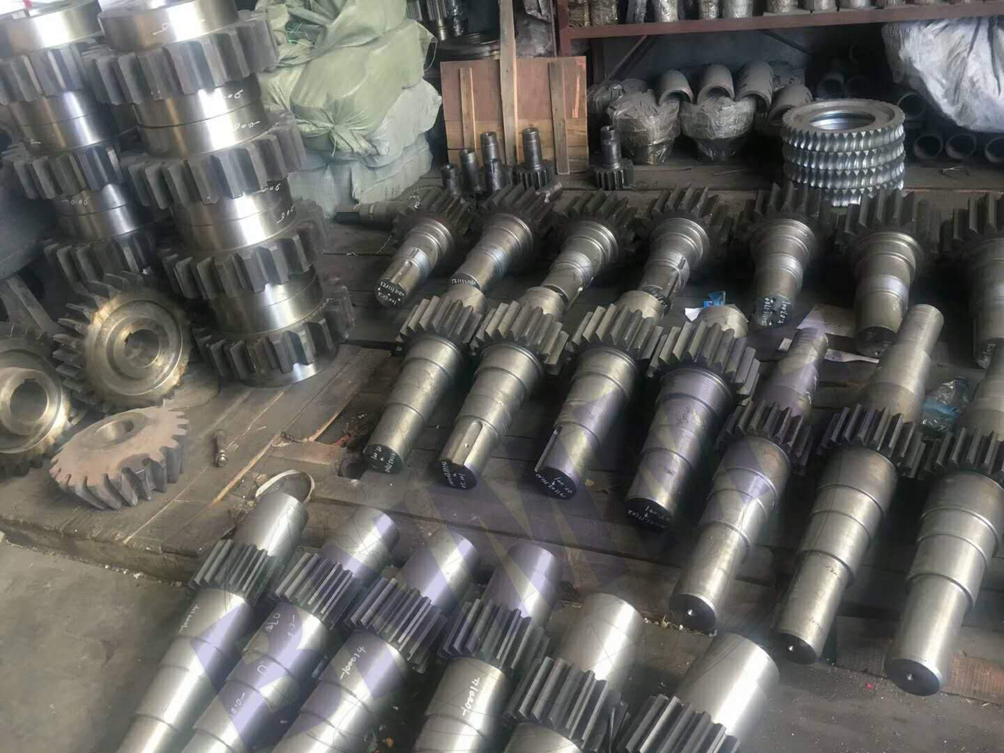 gear shaft for mining equipment
