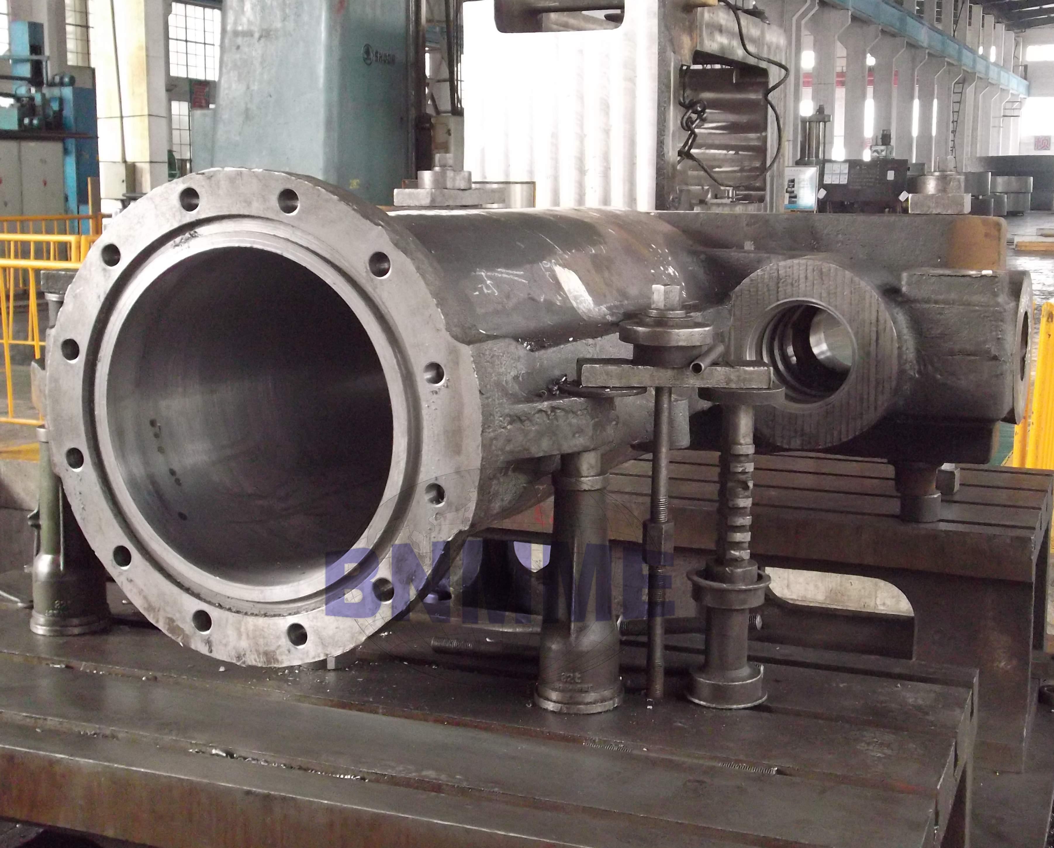 steam cylinder for press machine