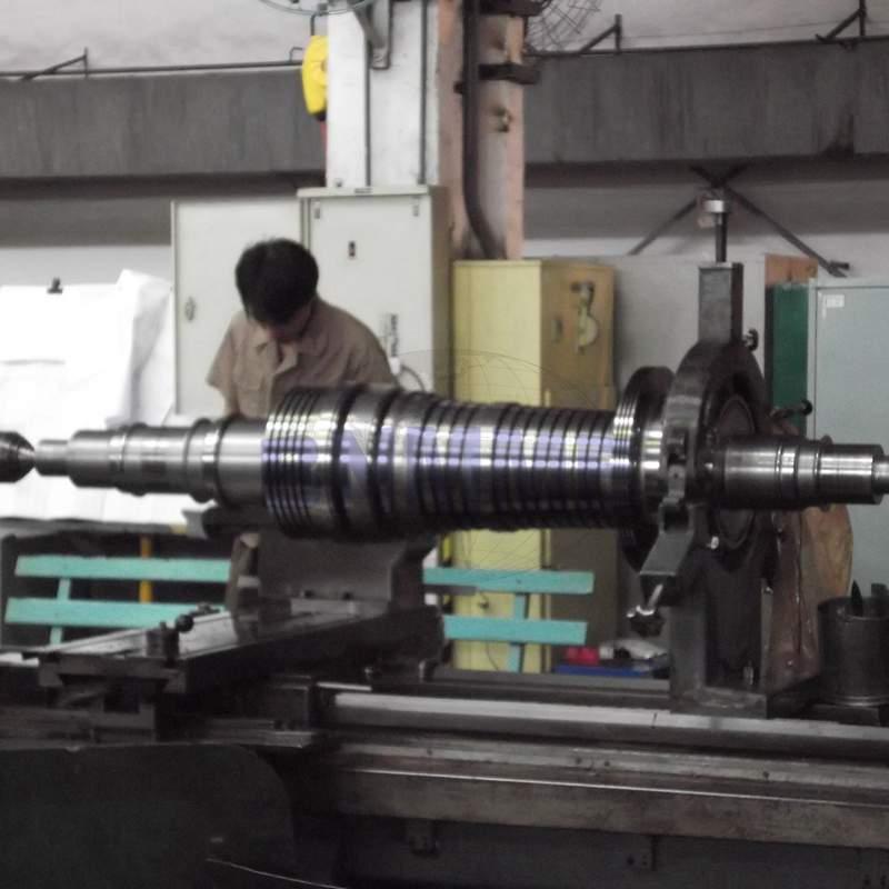 steam turbine shaft