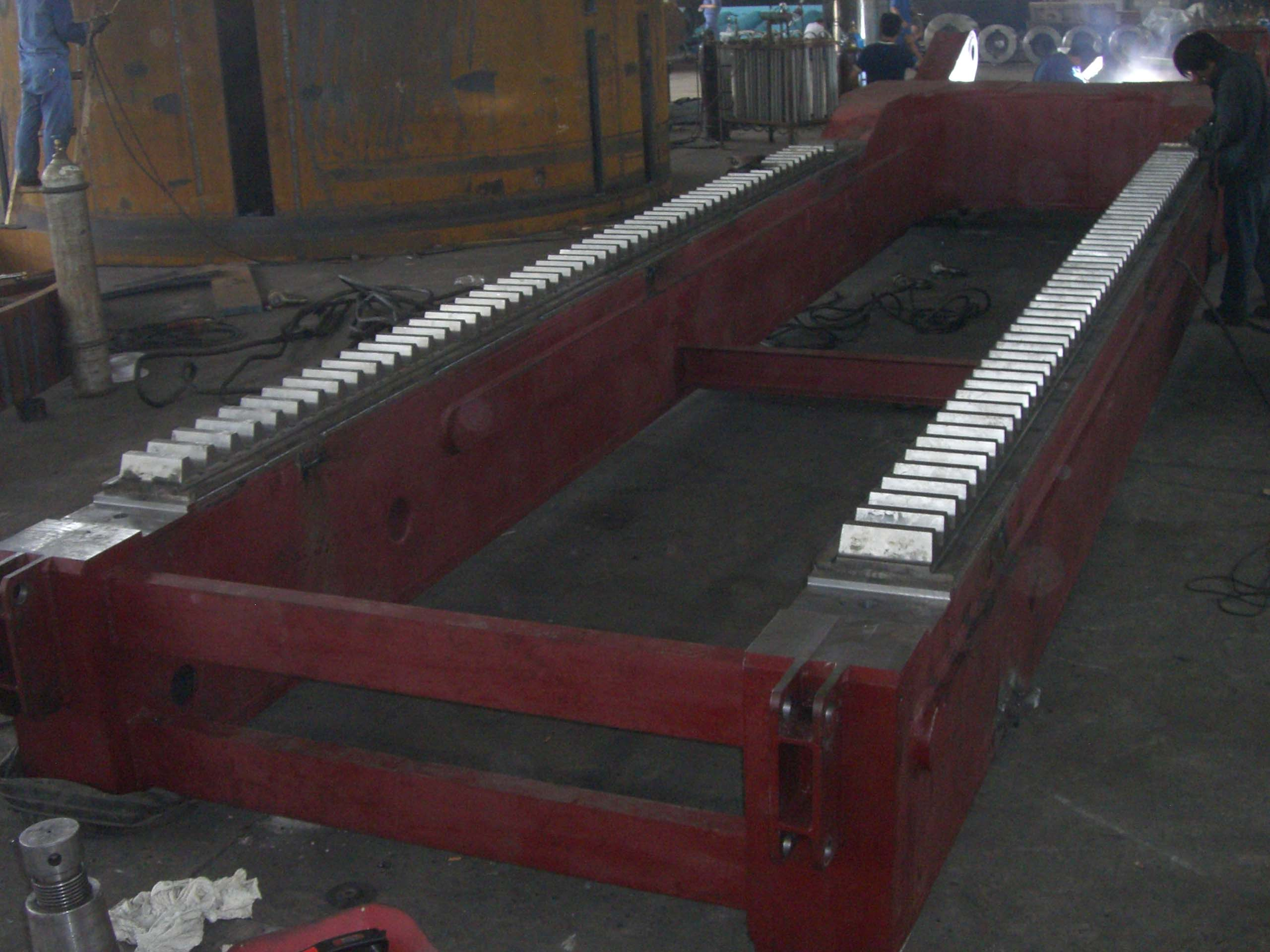 gear rack of the key part of transmission device for mining, metallurgy,cement and heavy machienry