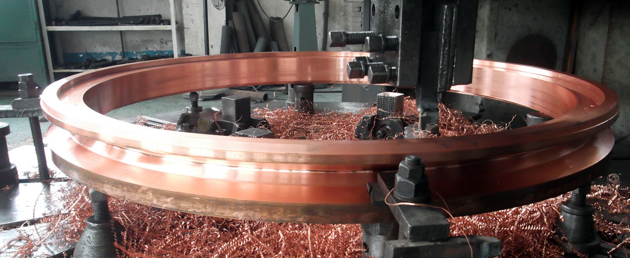 forging Wheel for Non-ferrous casting& Rolling.