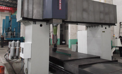 CNC planer type milling machine 6.3m
