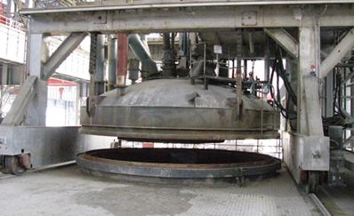 100T vacuum degassing ladle furnace(VOD)