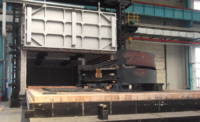 13*7*2.7M Trolley type Heat Treatment Furnace