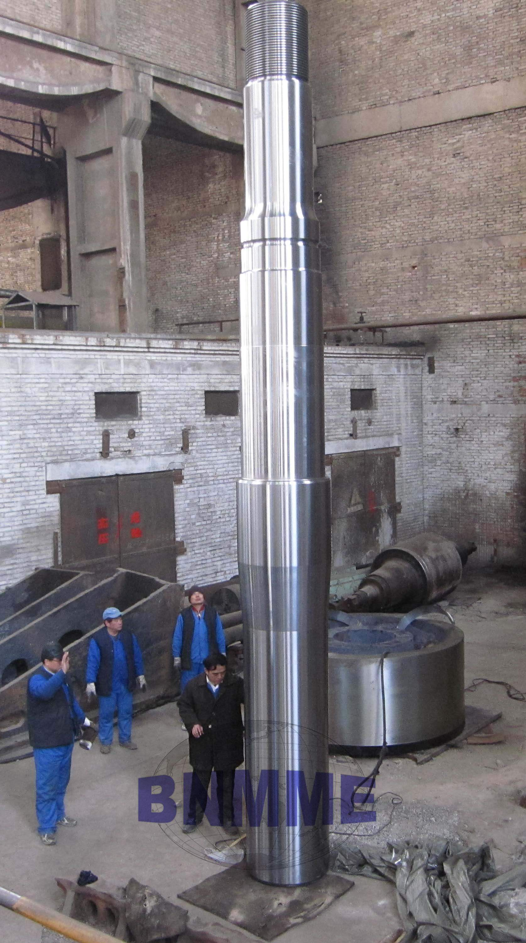 BNMM  forged main shaft for cone crusher