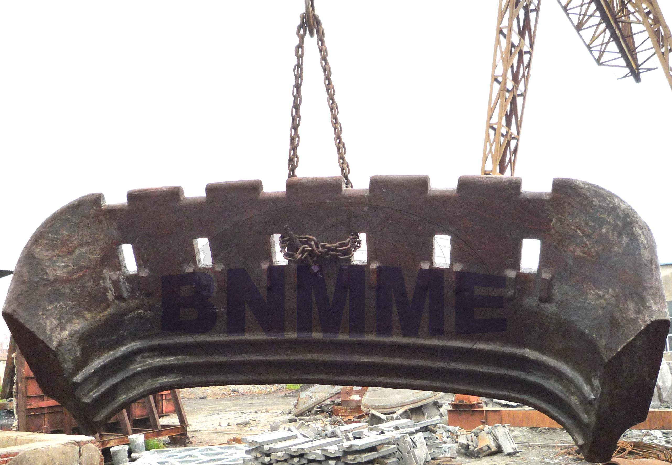 BNMME high manganese steel for heavy mining equipment